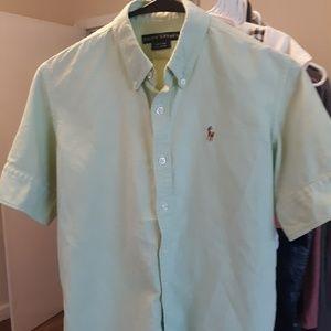 Ralph Lauren YOUTH Size 6 Short Sleeve Dress Shirt